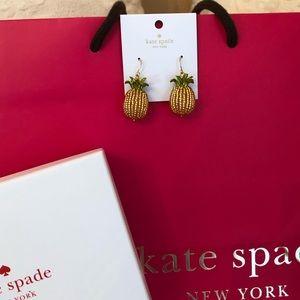 kate spade Jewelry - KATE SPADE Earrings Pineapple By The Pool- Box Bag